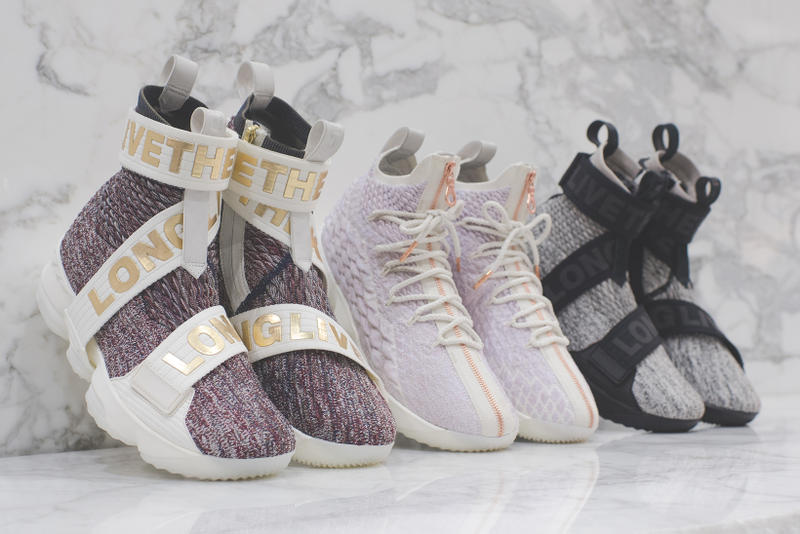 KITH Nike LeBron XV 15 Collaboration Performance Lifestyle 2017 December 30  Release Date Drop Info Sneakers d3e99de2f0a9