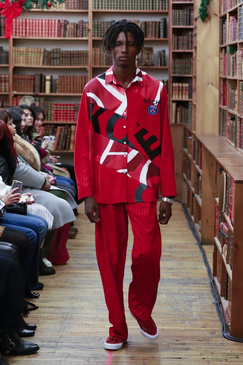 Koché Saint-Germain The Woolmark Company Pre-Fall 2018 Collection