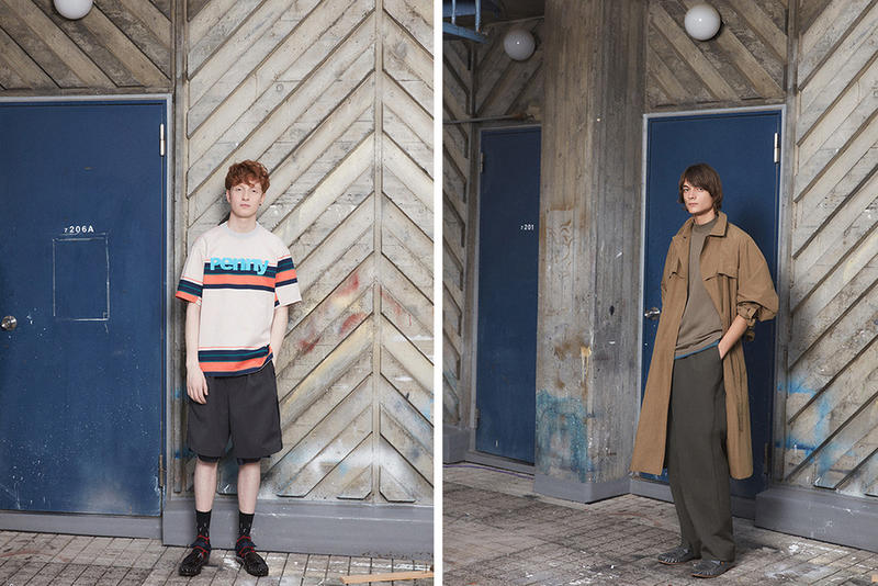 Kolor Spring/Summer 2018 SS18 Lookbook Junichi Abe Sacai Chitose Abe Comme Des Garcons