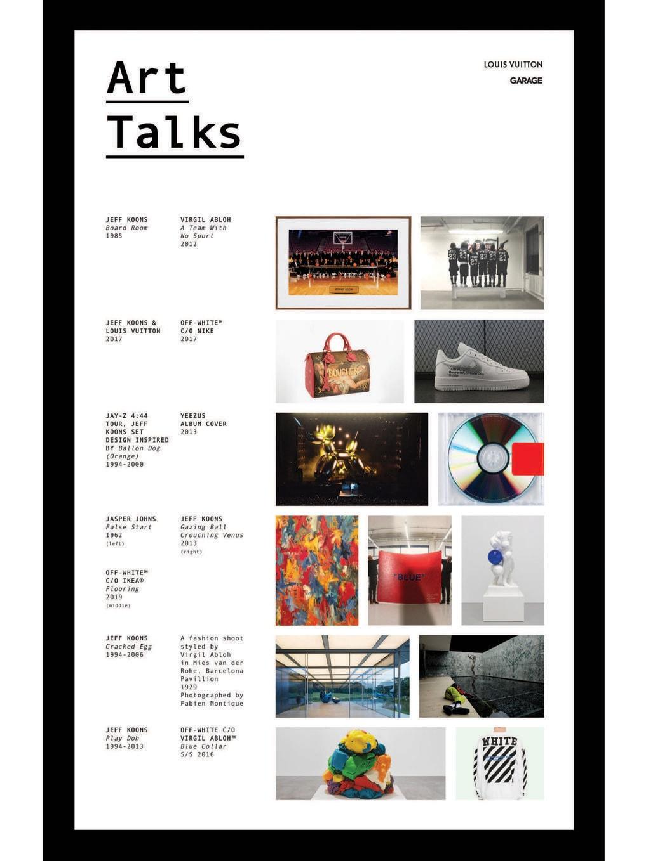 Virgil Abloh Jeff Koons Art Talks Garage Vice Live Discussion