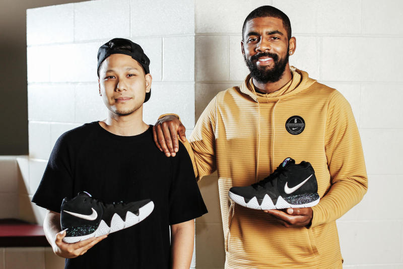 Nike Kyrie Irving New Design Partner The Kyrie 4 Basketball Footwear
