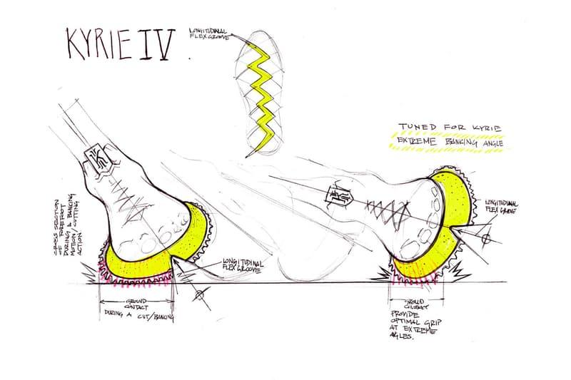 Nike Kyrie Irving New Design Partner The Kyrie 4 Basketball Footwear