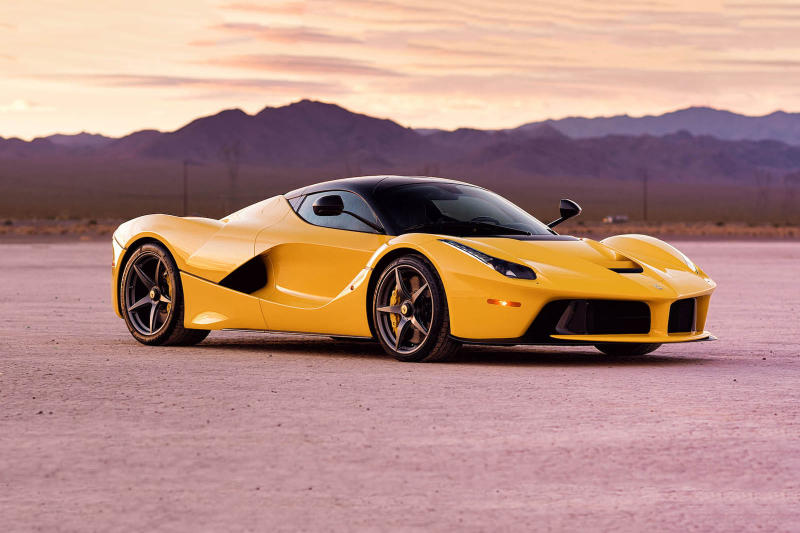 Yellow LaFerrariSale 3 6 Million USD Dollars Auction