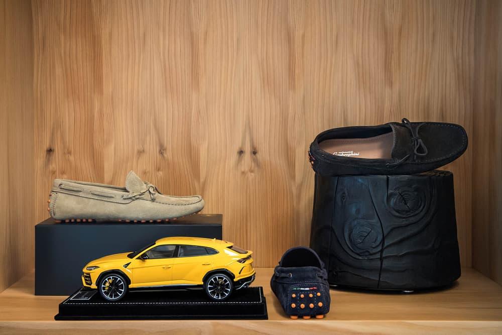 Lamborghini Urus Accessories Official Luggage Suede Jacket Driving Loafers Hettabretz Enzo Bonafe Tecknomonster