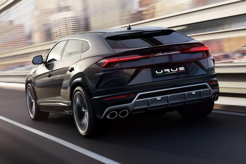 Lamborghini Urus SUV Official Reveal Debut 2017 December 4