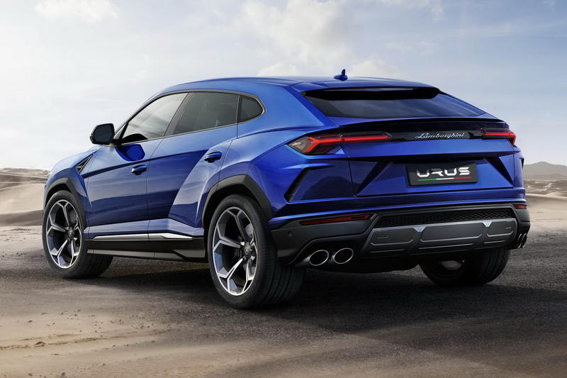 Lamborghini Urus SUV Official Reveal Debut 2017 December 4