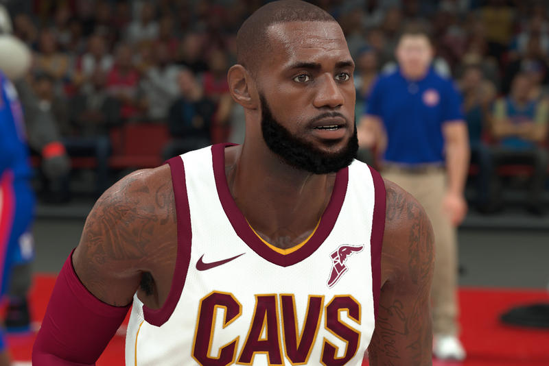 The Best-Selling Video Games of 2017 Lebron NBA 2k18
