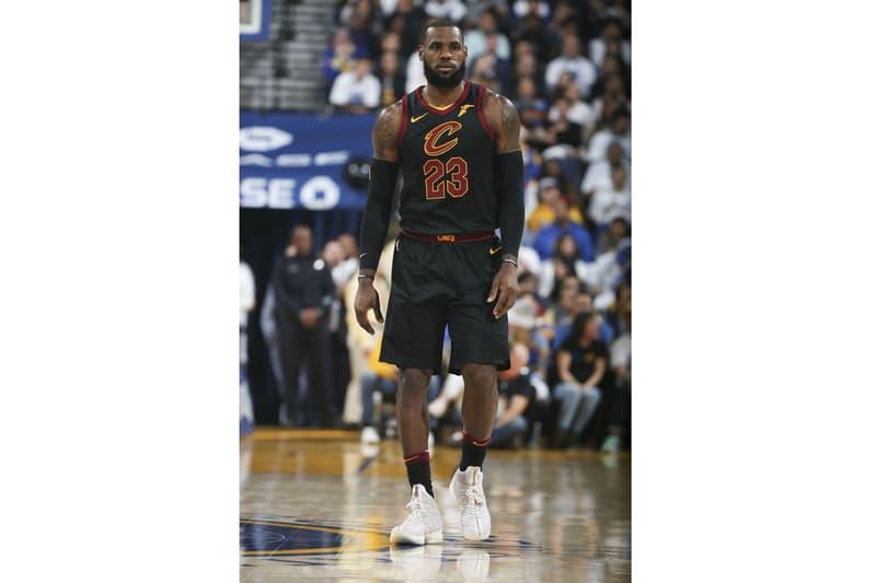 LeBron James Nike LeBron Performance 15 by Ronnie Fieg KITH Cleveland Cavaliers
