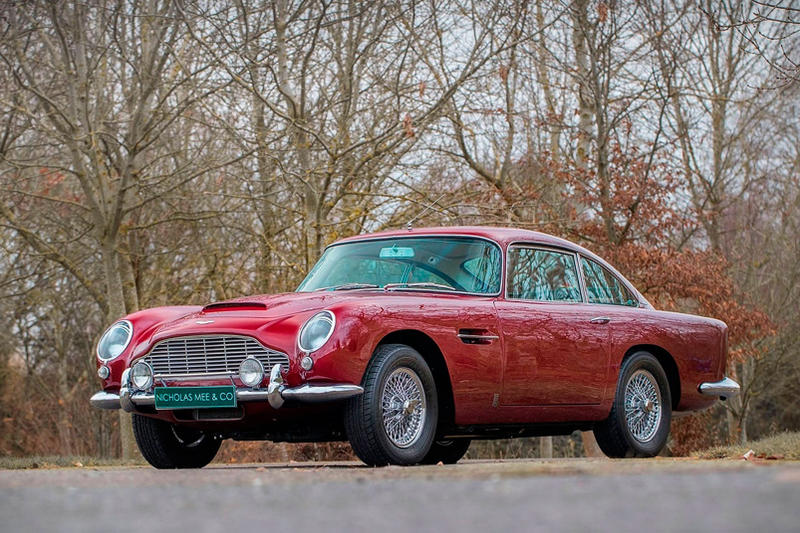 Robert Plants Aston Martin DB For Sale HYPEBEAST - 1964 aston martin db5 for sale