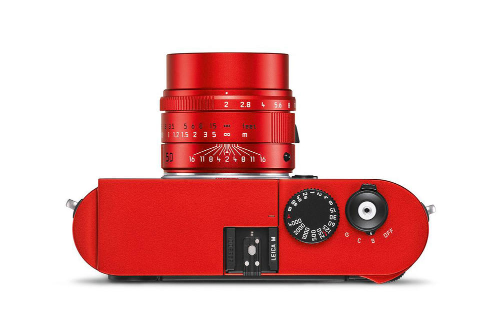 Leica Red Anodized M Typ 262 Limited Edition camera body rangefinder lens german unveils 100 APO-Summicron-M 50 mm f/2 ASPH lens