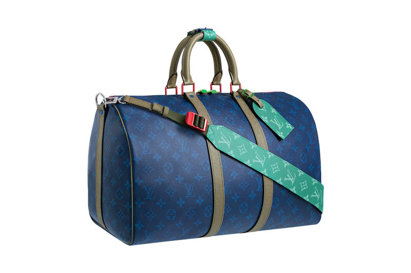15034876771 Louis Vuitton s Spring Summer 2018 Men s Accessories Are Travel-Ready. Bags  and tags emblazoned with the iconic monogram.