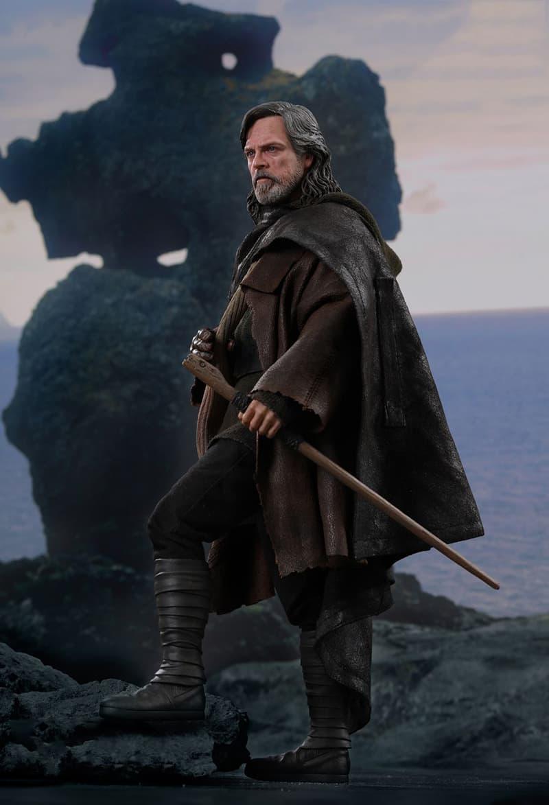 Luke Skywalker Star Wars The Last Jedi Hot Toys Collectible 1/6 Figure