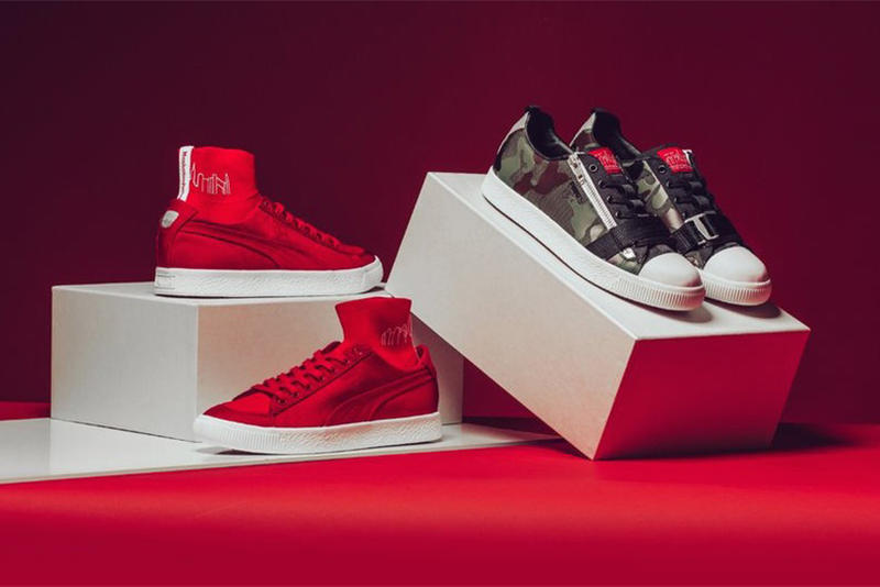 Manhattan Portage PUMA Clyde Sock Zip 2017 December 16 Release Date Info Sneakers Shoes Footwear Camo Red Bags