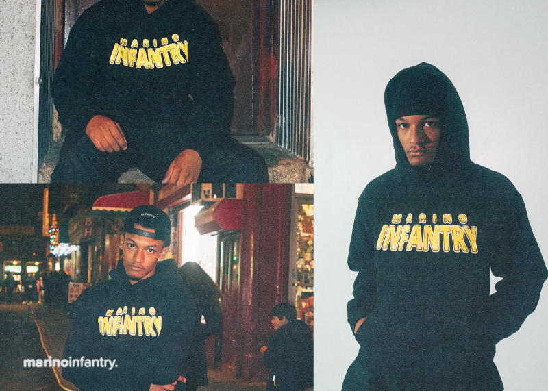 Marino Infantry 2017 Fall/Winter Hoodies