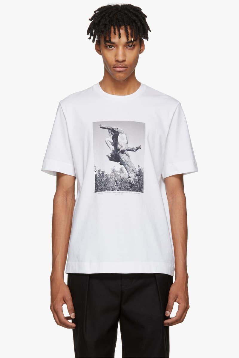 Mario Sorrenti Jil Sander Collection Fashion Apparel Clothing T-Shirt