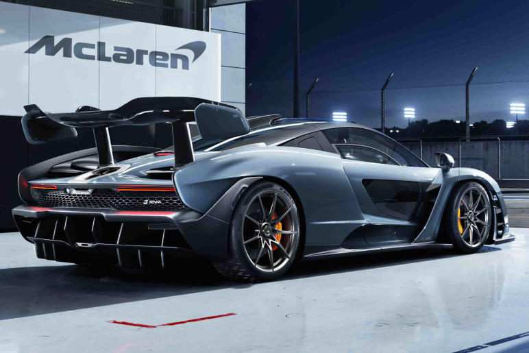 McLaren Senna Latest Ultimate Series Supercar