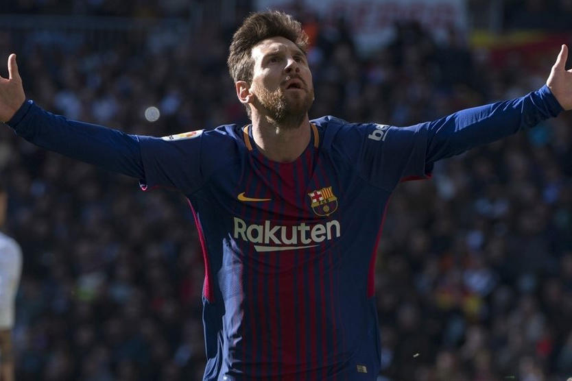 Lionel Messi UEFA 2017 Top Scorer Europe Argentina Barcelona