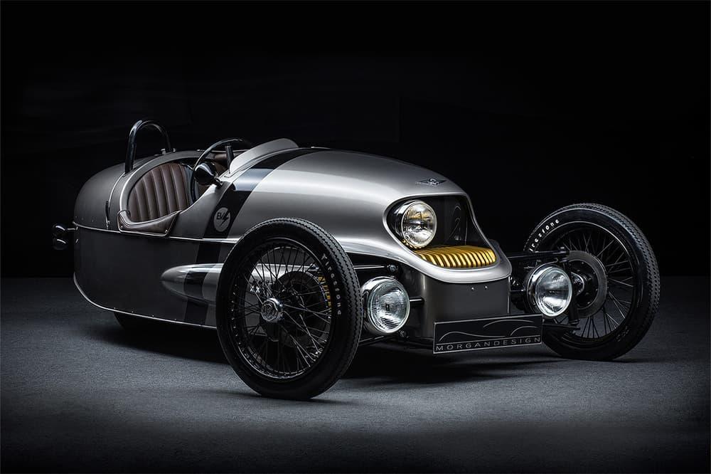 Morgan EV3 electric car production 2018 Morgan motor company
