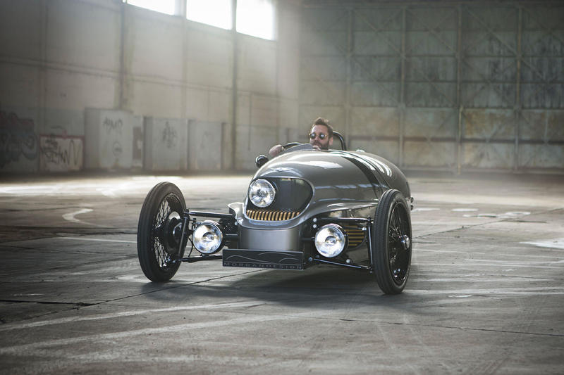 Morgan EV3 electric car production 2018 Morgan motor company