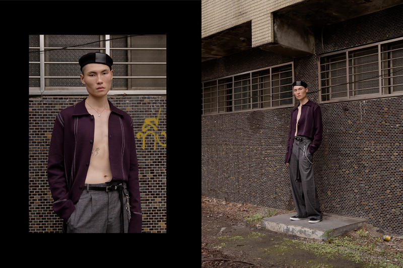 Necessity Sense F/W 2017 Editorial Earth is Not My Home Taiwan Collection Lookbook