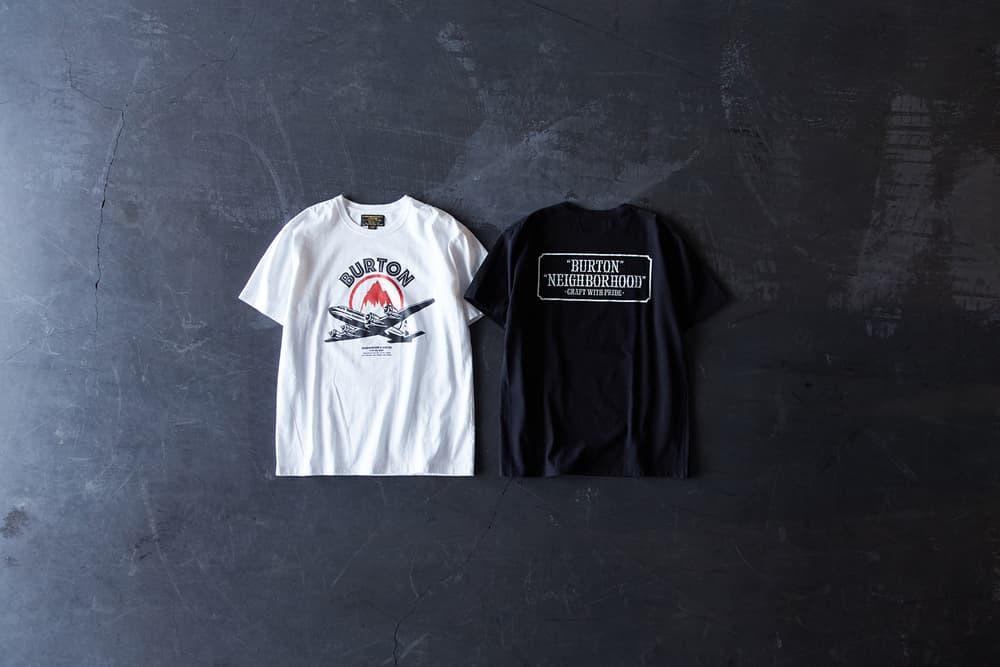 Neighborhood x Burton Collaboration Release Early January 2018 Bomber Jackets Hats Tees Shirts Cargos Fur
