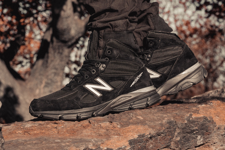 new products 2e70f 3e08d Brave the Elements in the Winter-Ready New Balance 990v4 Mid