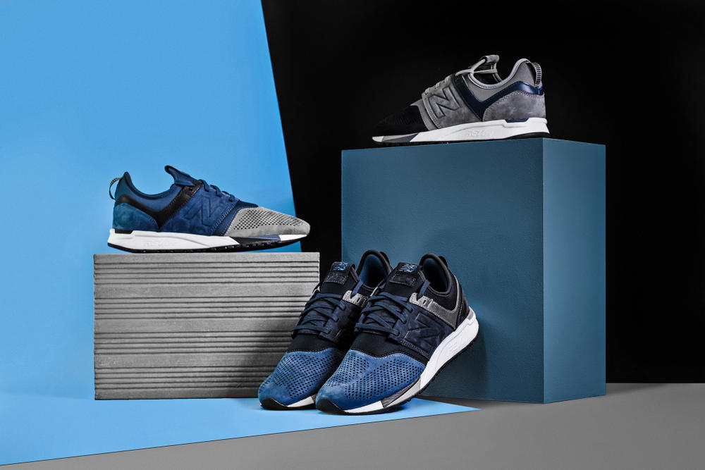 New Balance Returns MRL247 'Provenance' Pack MRL247N4 MRL247N3 MRL247N2 Navy Blue Grey