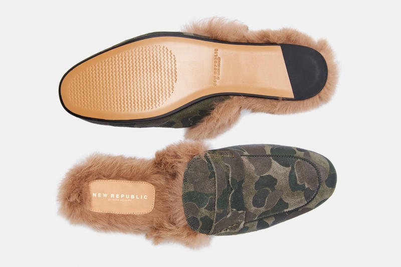 New Republic by Mark McNairy Holiday 2017 Collection chelsea boot fur slipper