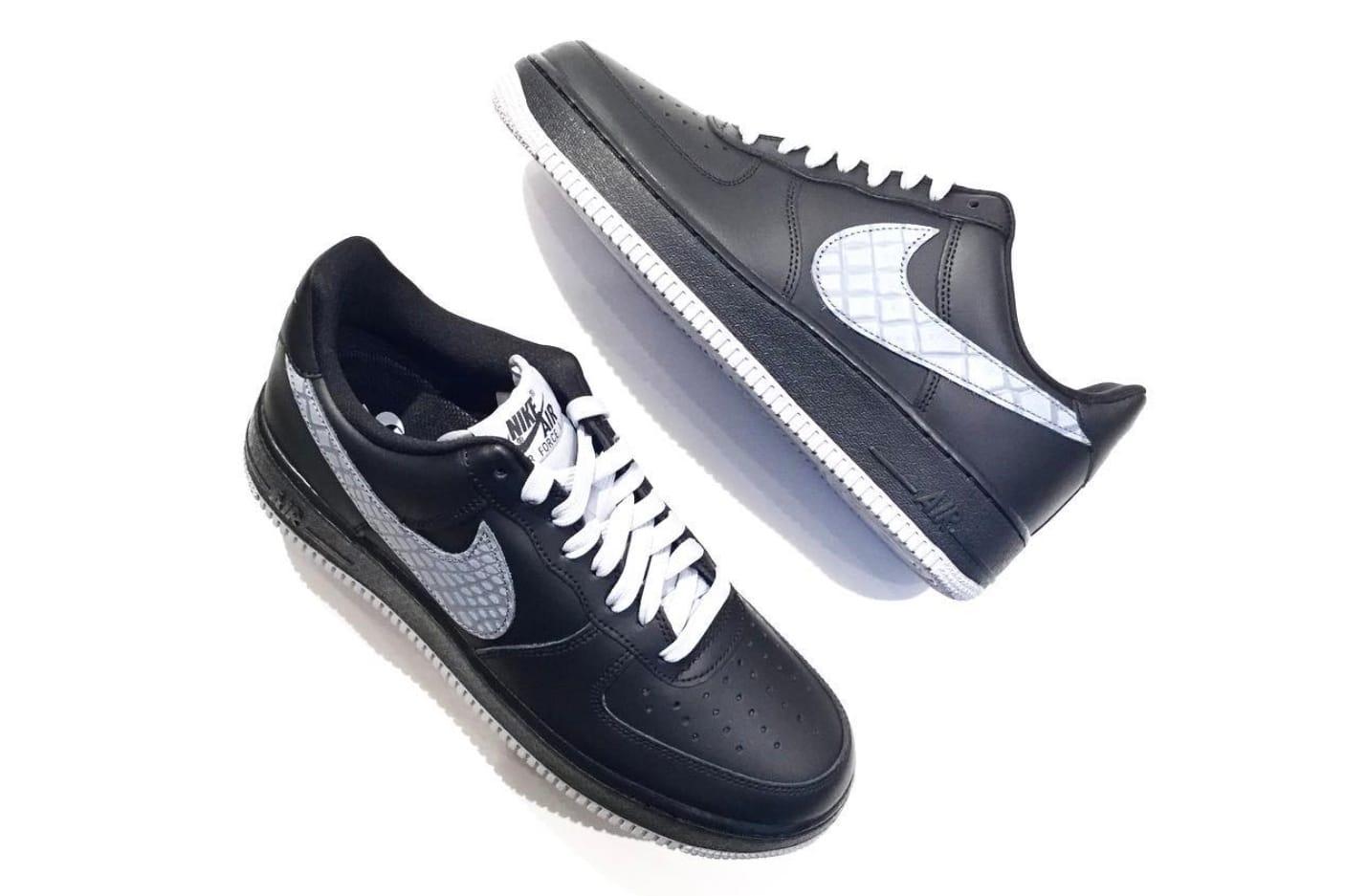 Nike Air Force 1 Embossed Snakeskin