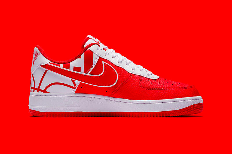 Nike Air Force 1 Low FORCE Logo Pack Red Black Blue