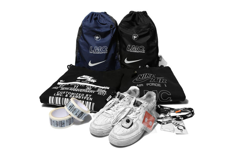 competitive price 2e572 cf82d LMC Nike Air Force 1 Custom Battle Force Seoul Korea Streetwear
