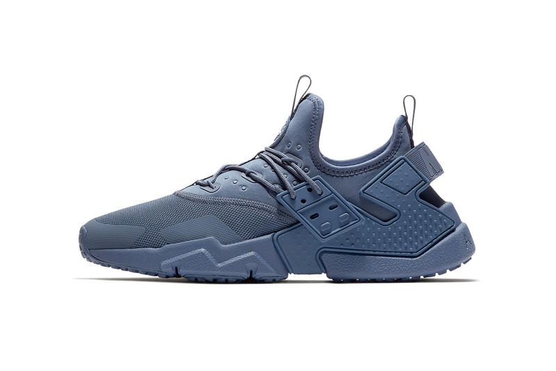 timeless design d0cbf d5500 A monochromatic look for the Swoosh s tech-savvy low-top. Nike Air Huarache  Drift Diffused Blue 2018 January 25 Release ...