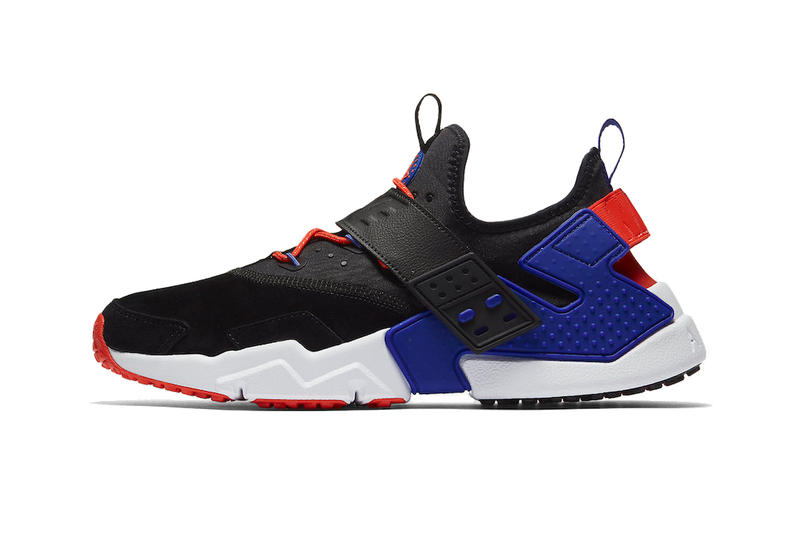 new style 90cd1 d8066 Nike Air Huarache Drift Premium Release Info 2018 sneaker shoe violet rush  orange 3m swoosh running
