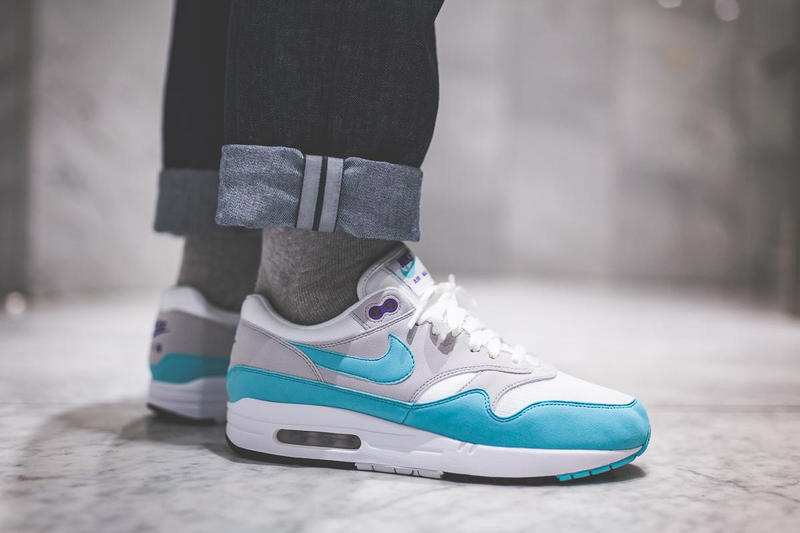 online store a927e 5bd44 Nike Air Max 1 OG Aqua Footwear Sneakers Shoes Swoosh Release Date Info  Drops Afew December