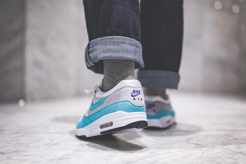 Nike Air Max 1 OG Aqua Footwear Sneakers Shoes Swoosh Release Date Info Drops Afew December 16 2017