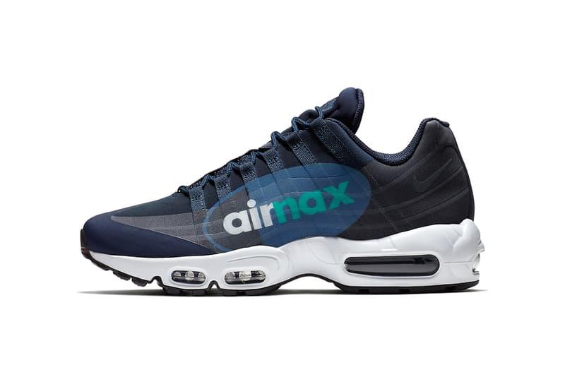 Nike Air Max 95 Big Logo Slate 2017 December 5 Release Date Info Sneakers Shoes Footwear