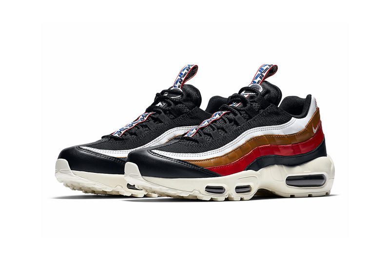 quality design 58fb5 97303 Nike Air Max 95 Pull Tab Navy Red Brown White 2017 December 23 Release Date  Info