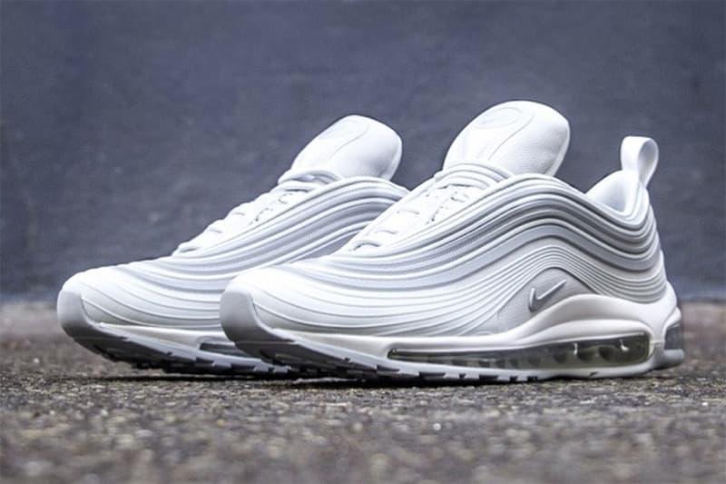 Nike Air Max 97 '17 Pure Platinum Sneakers Footwear