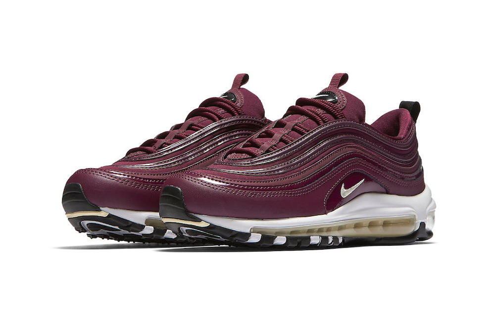 """Nike Air Max 97 """"Bordeaux"""" Release Information Details Sneakers"""