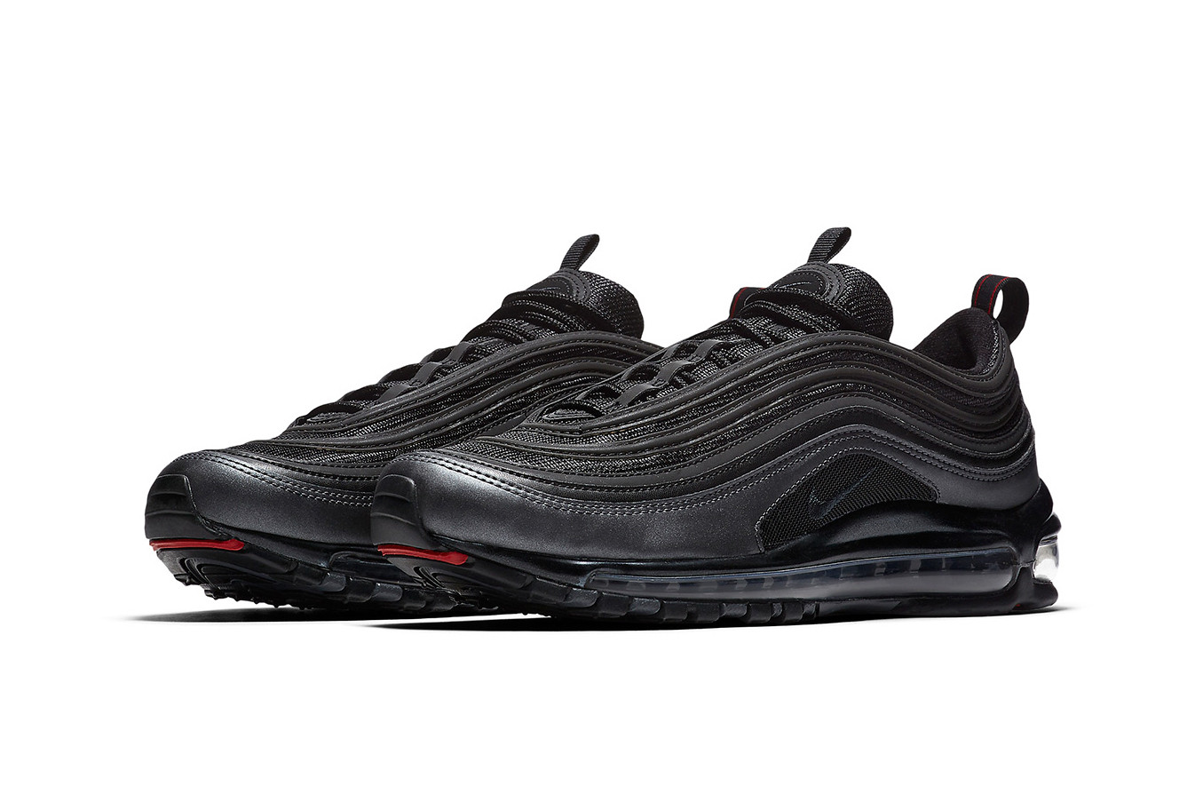 Nike Air Max 97 Black Metallic Hematite Blue Air Max 97 Black ... c407cc8f858