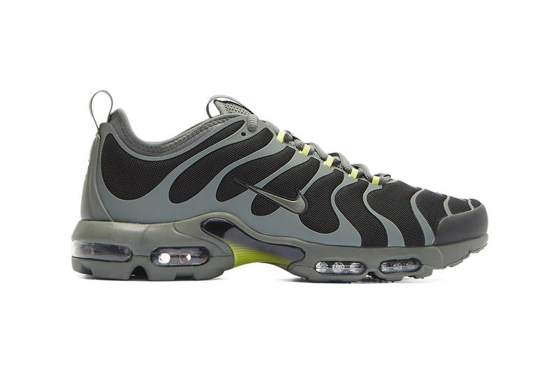 Nike Air Max Plus TN Ultra Black Grey Release Info sneaker news green 20th anniversary Release Date Info December 2017