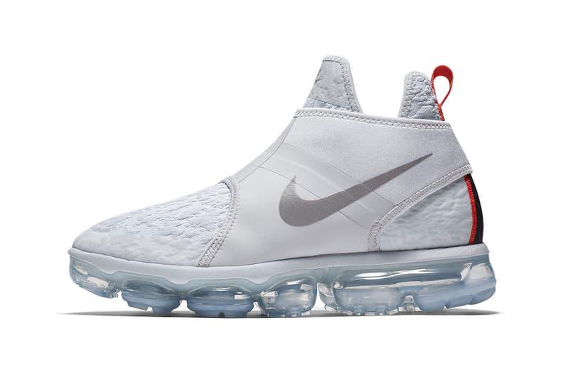 Nike Air VaporMax Chukka Slip White 2018 release