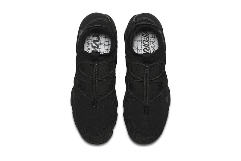 Nike Air VaporMax Flyknit Utility Triple Black 2017 2018 Release Date Info Sneakers Shoes Footwear