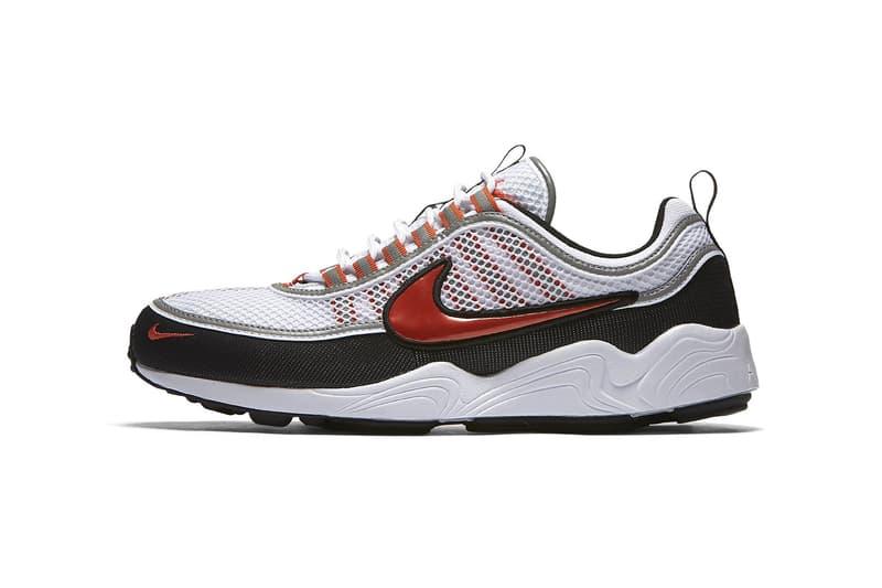 Nike Air Zoom Spiridon White Team Orange 2017 December Release Date Info Sneakers Shoes Footwear