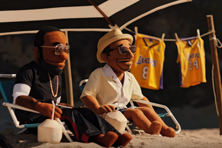 ca15109ad5e52 Nike Basketball Comically Celebrates Kobe Bryant s Jersey Retirement With  MVPuppets