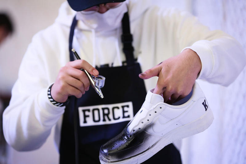 Nike Court Beijing Air Force 1 35th Anniversary Event December 2017