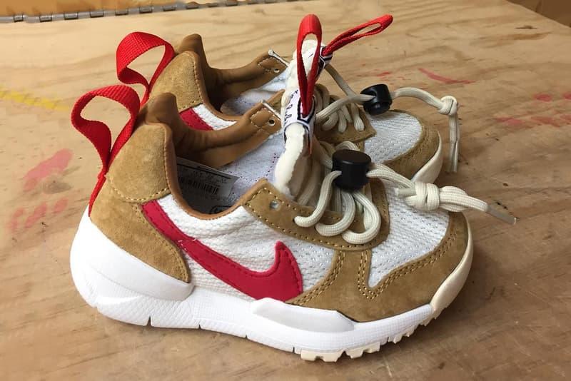 Tom Sachs Nike NikeCraft Mars Yard 2.0 Customisation Baby Sized Kids Sneakers