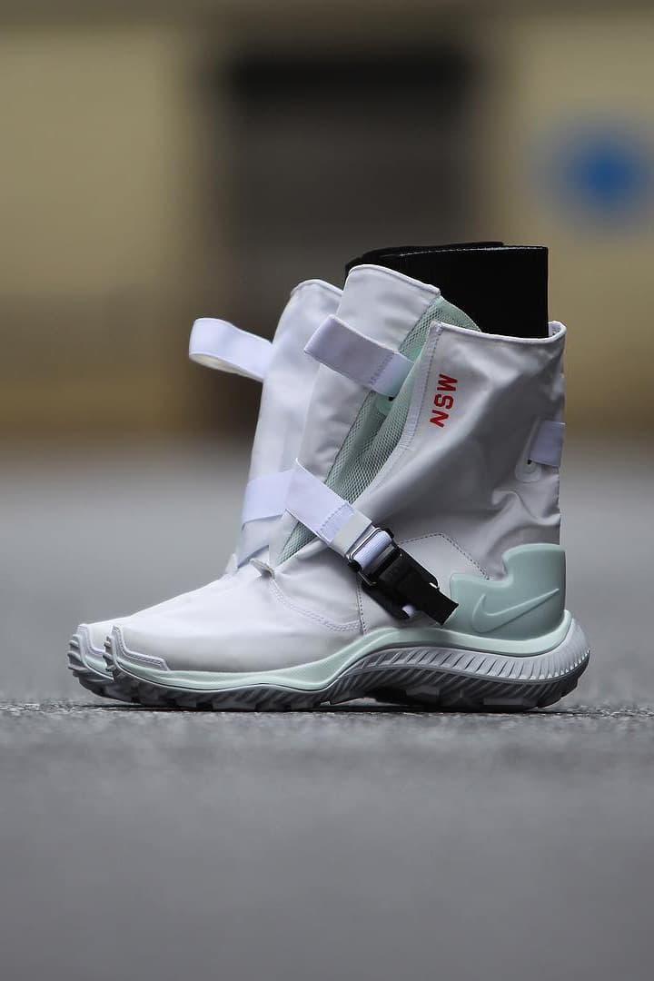 Nike Gaiter Boot Strapped High Top NSW Leak gc911 Sneakers Shoes Footwear KMTR NSW Buckle Sportswear Fidlock