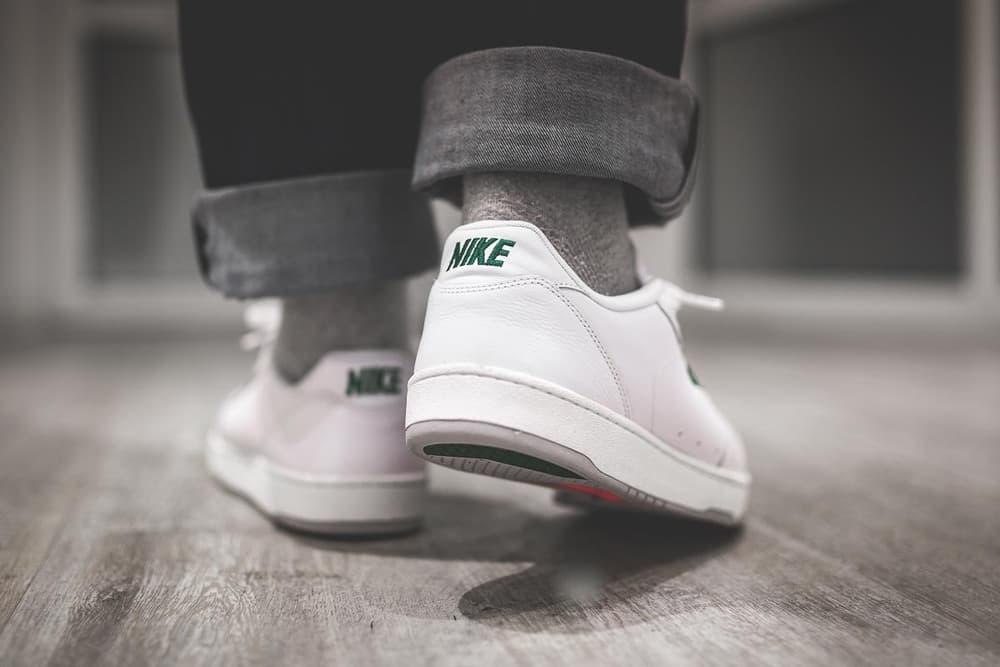 Nike GrandStand II Premium White Dark Cypress On Feet 2017 December Release Date Info Sneakers Shoes Footwear afew