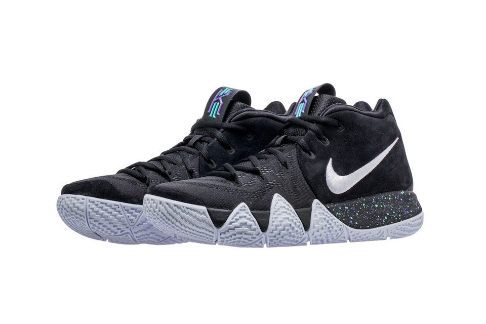 30cac55cdb2 Nike Kyrie 4 Debuts in Black White for Christmas